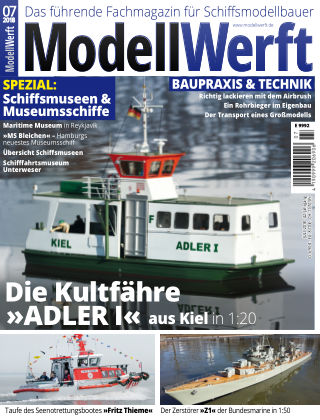 MODELLWERFT 08/2018