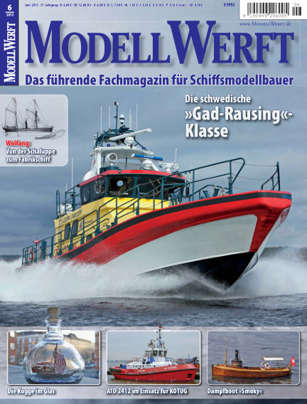 MODELLWERFT May 01, 2013 00:00