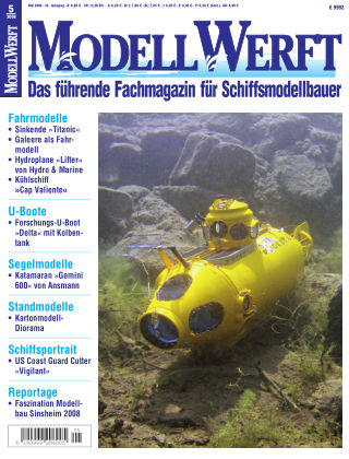 MODELLWERFT 05/2008