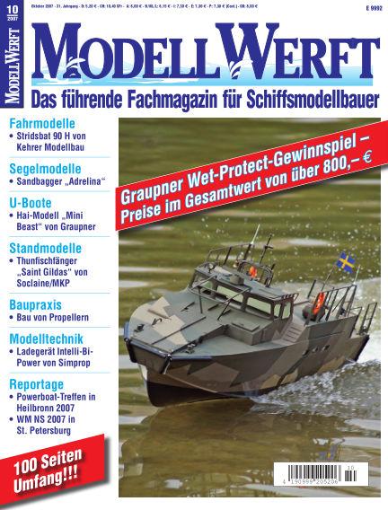 MODELLWERFT September 03, 2007 00:00