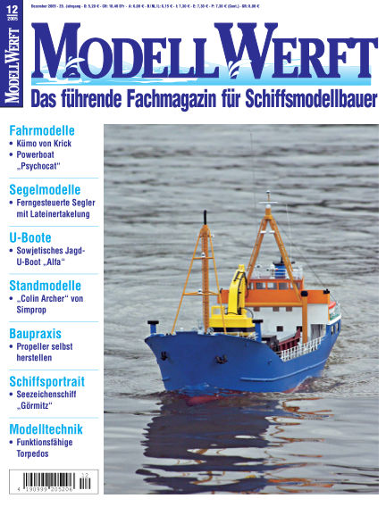 MODELLWERFT November 01, 2005 00:00