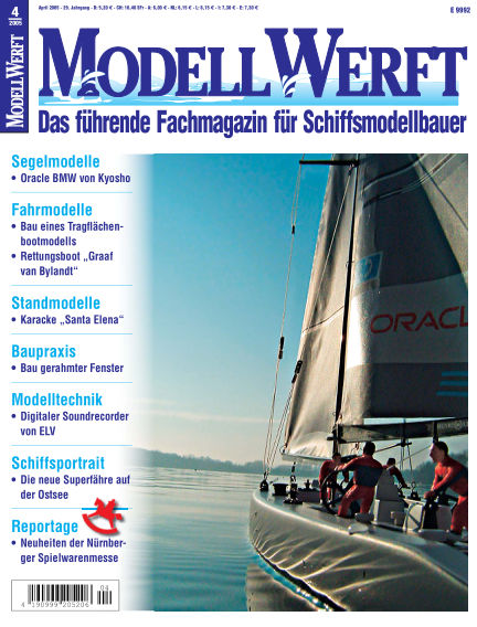 MODELLWERFT March 01, 2005 00:00