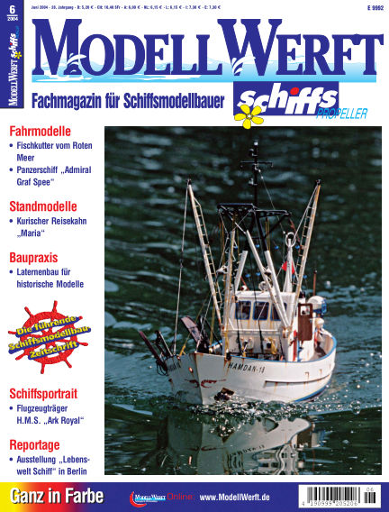 MODELLWERFT May 03, 2004 00:00