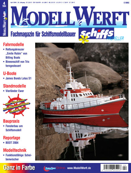 MODELLWERFT March 01, 2004 00:00