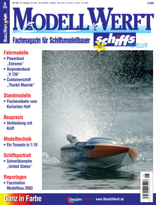 MODELLWERFT 05/2003