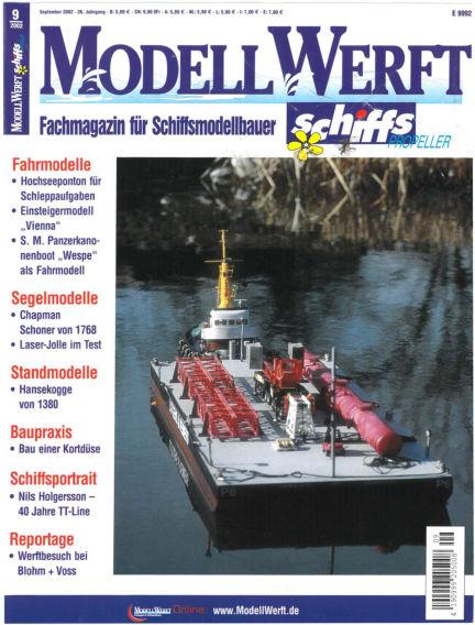 MODELLWERFT August 01, 2002 00:00