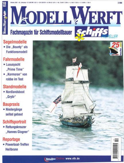 MODELLWERFT September 03, 2001 00:00