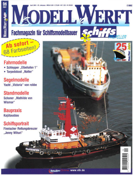 MODELLWERFT March 01, 2001 00:00