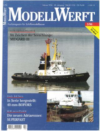 MODELLWERFT 02/1996
