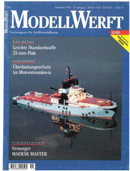 MODELLWERFT October 02, 1995 00:00