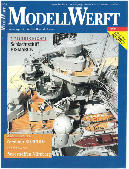 MODELLWERFT August 01, 1994 00:00