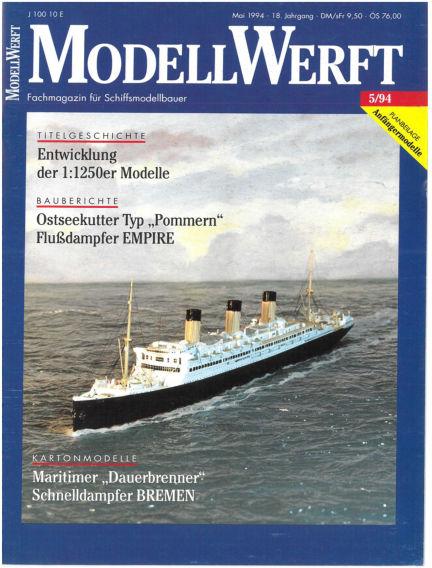 MODELLWERFT April 01, 1994 00:00
