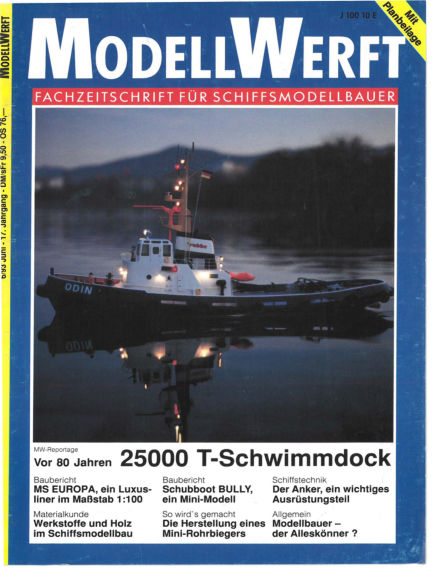 MODELLWERFT May 03, 1993 00:00