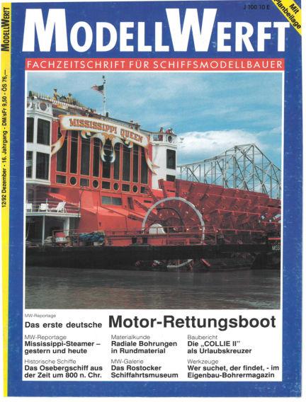 MODELLWERFT November 02, 1992 00:00
