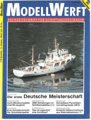 MODELLWERFT 11/1992