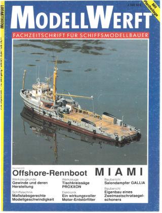 MODELLWERFT 09/1992