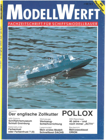 MODELLWERFT May 01, 1992 00:00