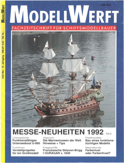 MODELLWERFT April 01, 1992 00:00