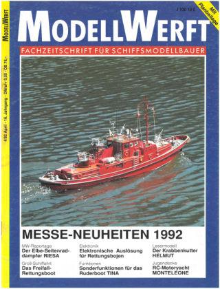 MODELLWERFT 04/1992