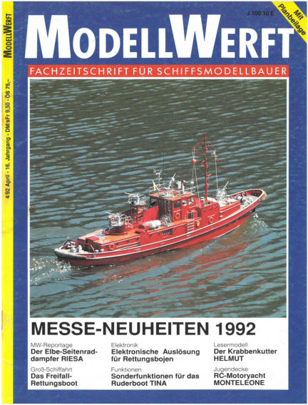 MODELLWERFT March 02, 1992 00:00