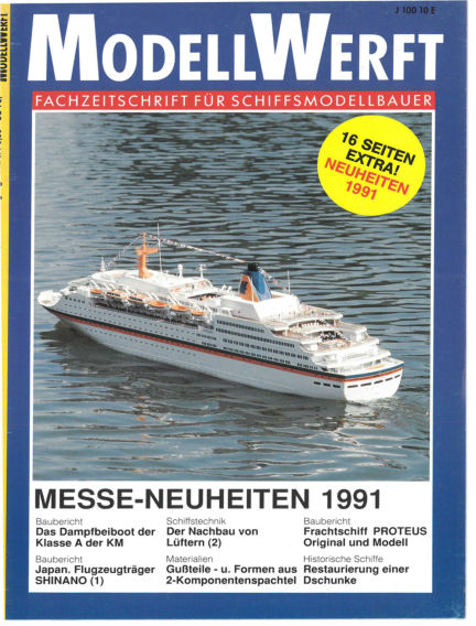 MODELLWERFT March 01, 1991 00:00