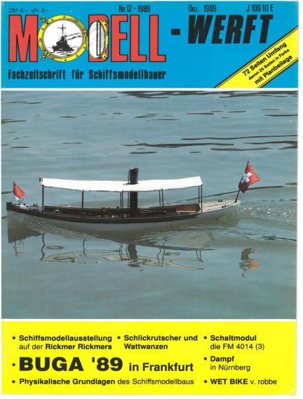 MODELLWERFT November 01, 1989 00:00