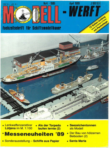 MODELLWERFT March 01, 1989 00:00