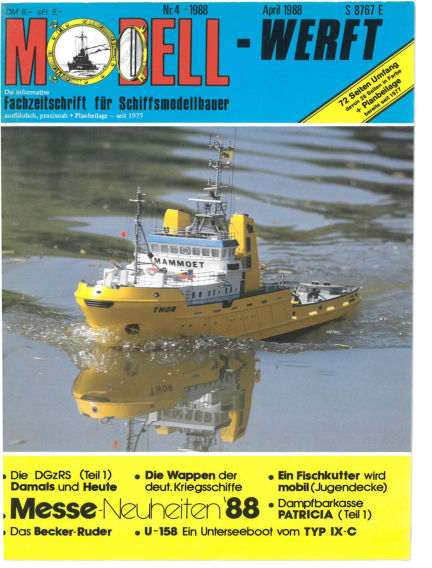 MODELLWERFT March 01, 1988 00:00