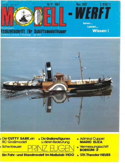 MODELLWERFT October 01, 1987 00:00