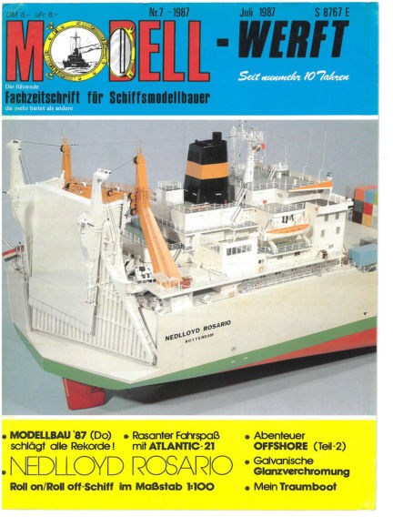 MODELLWERFT June 01, 1987 00:00