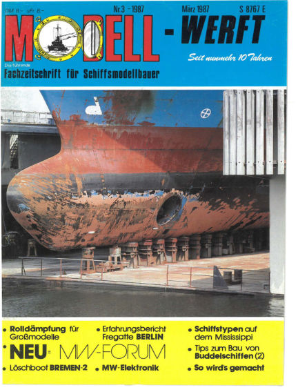 MODELLWERFT February 02, 1987 00:00