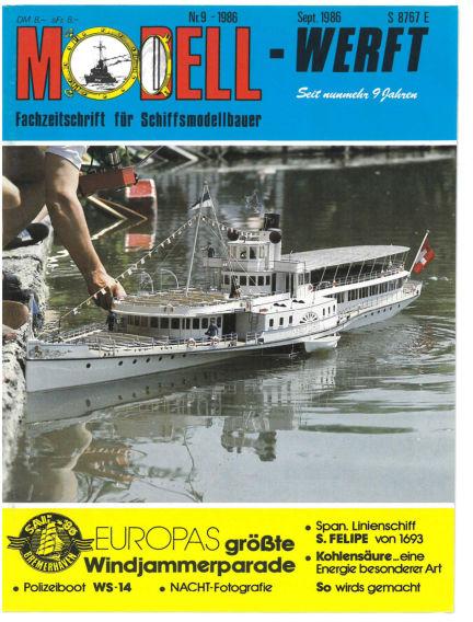 MODELLWERFT August 01, 1986 00:00