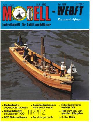 MODELLWERFT 07/1986