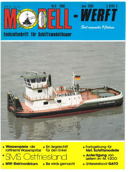 MODELLWERFT May 01, 1986 00:00
