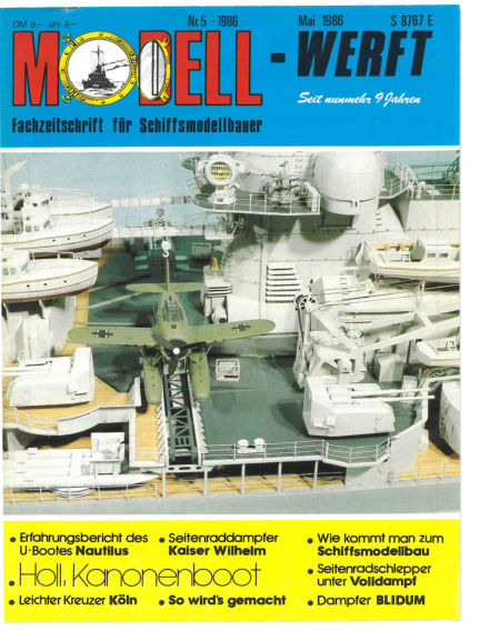 MODELLWERFT April 01, 1986 00:00