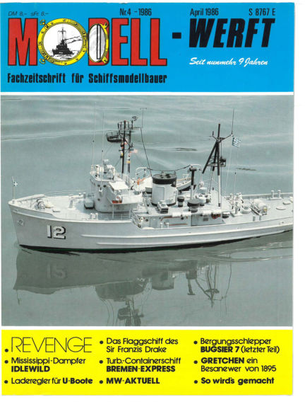 MODELLWERFT March 03, 1986 00:00