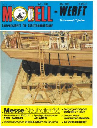 MODELLWERFT 03/1986