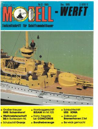 MODELLWERFT 12/1985