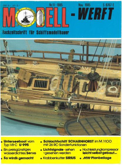 MODELLWERFT October 01, 1986 00:00