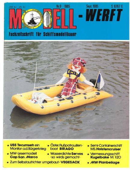 MODELLWERFT August 01, 1985 00:00