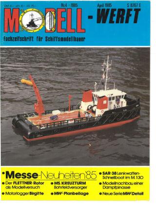 MODELLWERFT 04/1985