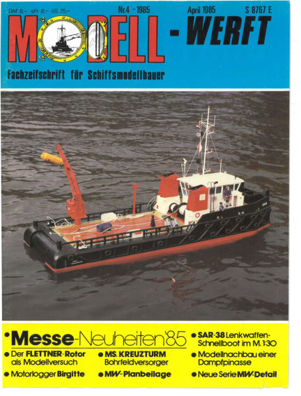 MODELLWERFT March 01, 1985 00:00