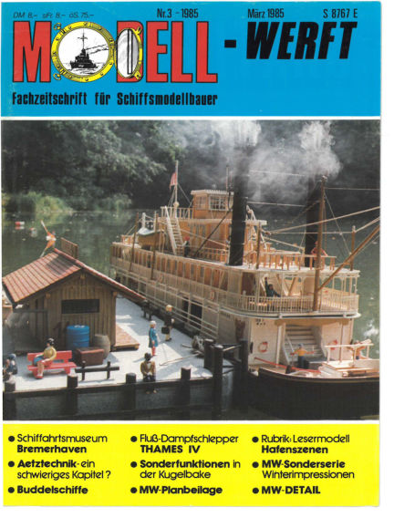 MODELLWERFT February 01, 1985 00:00