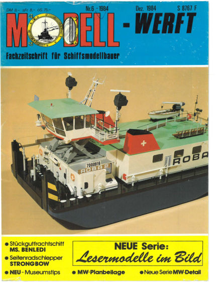 MODELLWERFT May 01, 1984 00:00