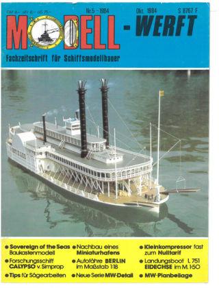 MODELLWERFT 05/1984