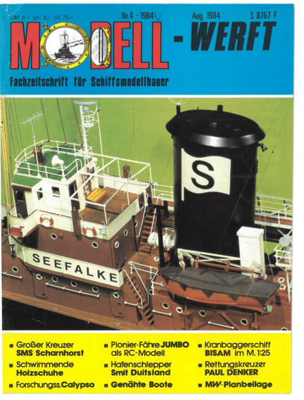 MODELLWERFT March 01, 1984 00:00
