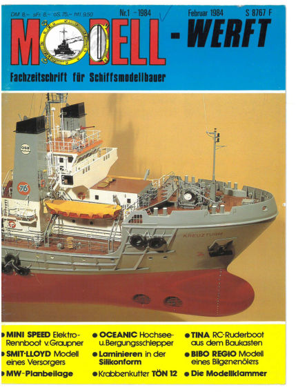 MODELLWERFT December 01, 1983 00:00
