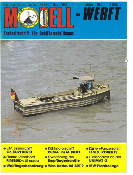 MODELLWERFT April 01, 1983 00:00