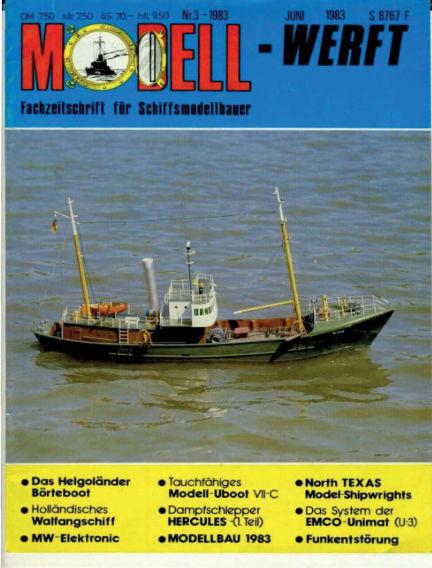 MODELLWERFT February 01, 1983 00:00