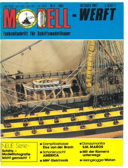 MODELLWERFT April 01, 1982 00:00